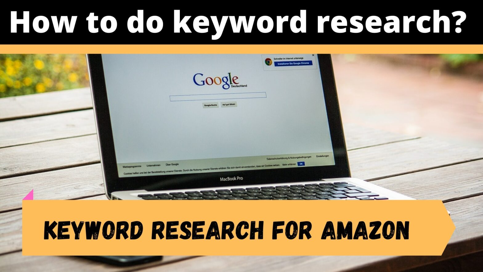 how to do keyword research for amazon and blogging site